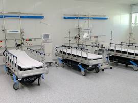 Hospital ward in the Military Hospital Sana'a