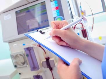 Funktionscheck von Medizintechnik