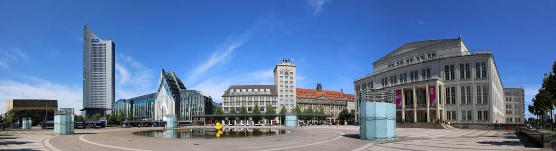 Panorama Augustusplatz