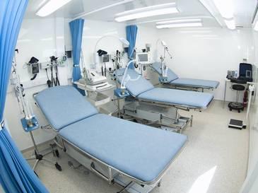 Station im mobilen Krankenhaus