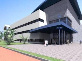 Rendering Al-Dour Hospital