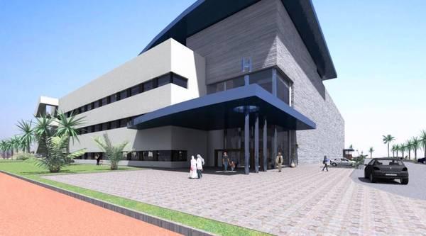 Rendering Krankenhaus Al-Dour
