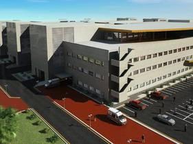 Rendering Samawa Hospital