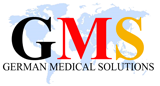 Logo GMS German Medical Solutions